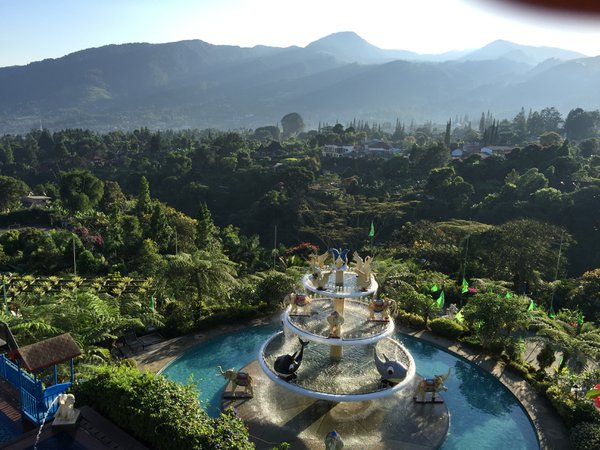 The panoramic view of nature during the trip to Bogor, Indonesia thumbnail