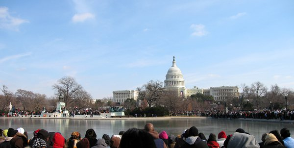 Inauguration of President Barack Obama - A milestone. thumbnail