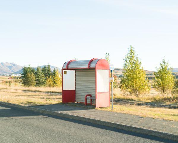Bus stop (Reykjavik, Iceland) thumbnail