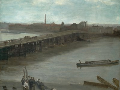 Brown and Silver: Old Battersea Bridge, James McNeill Whistler, 1859—1863