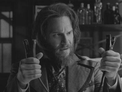 """Seth Rogen playing Dr. Frankenstein in the upcoming sixth season of """"Drunk History"""""""