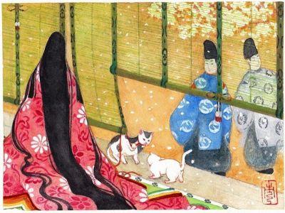 Heian Period Cats