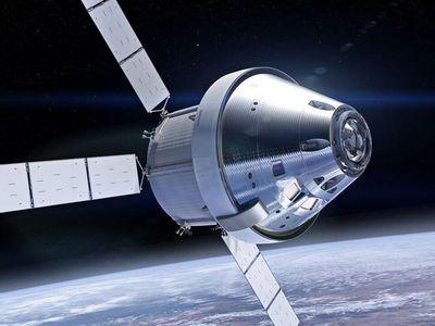 Orion's heat shield
