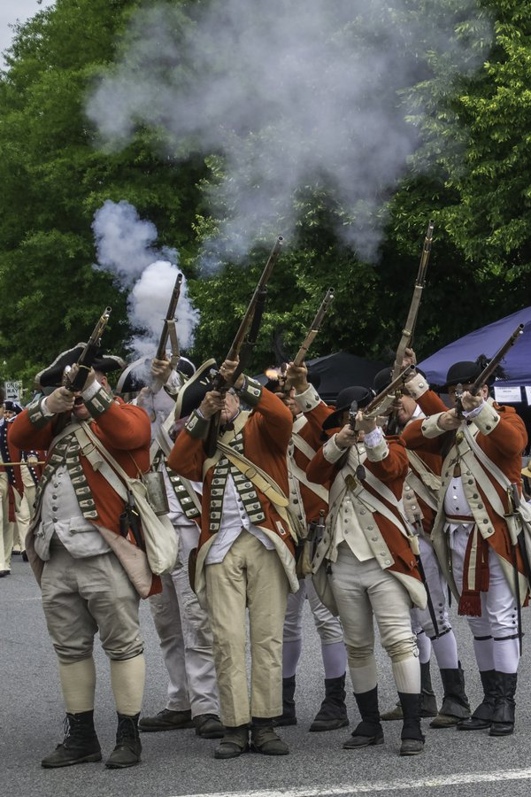The Red Coats are Firing thumbnail