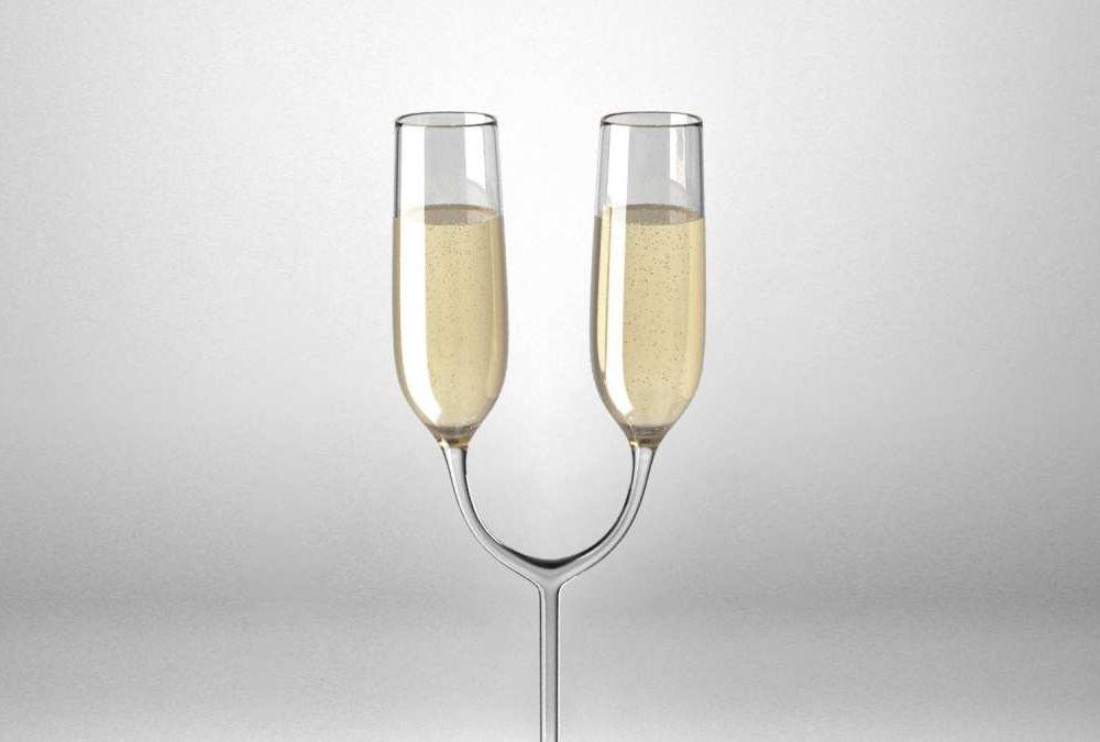 Twin champagne