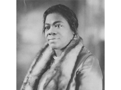 Mary McLeod Bethune, pictured in the 1920s, when her school became a co-ed institution and she became the president of the National Association of Colored Women.