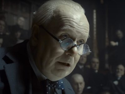 Gary Oldman plays Winston Churchill in the new release The Darkest Hour.