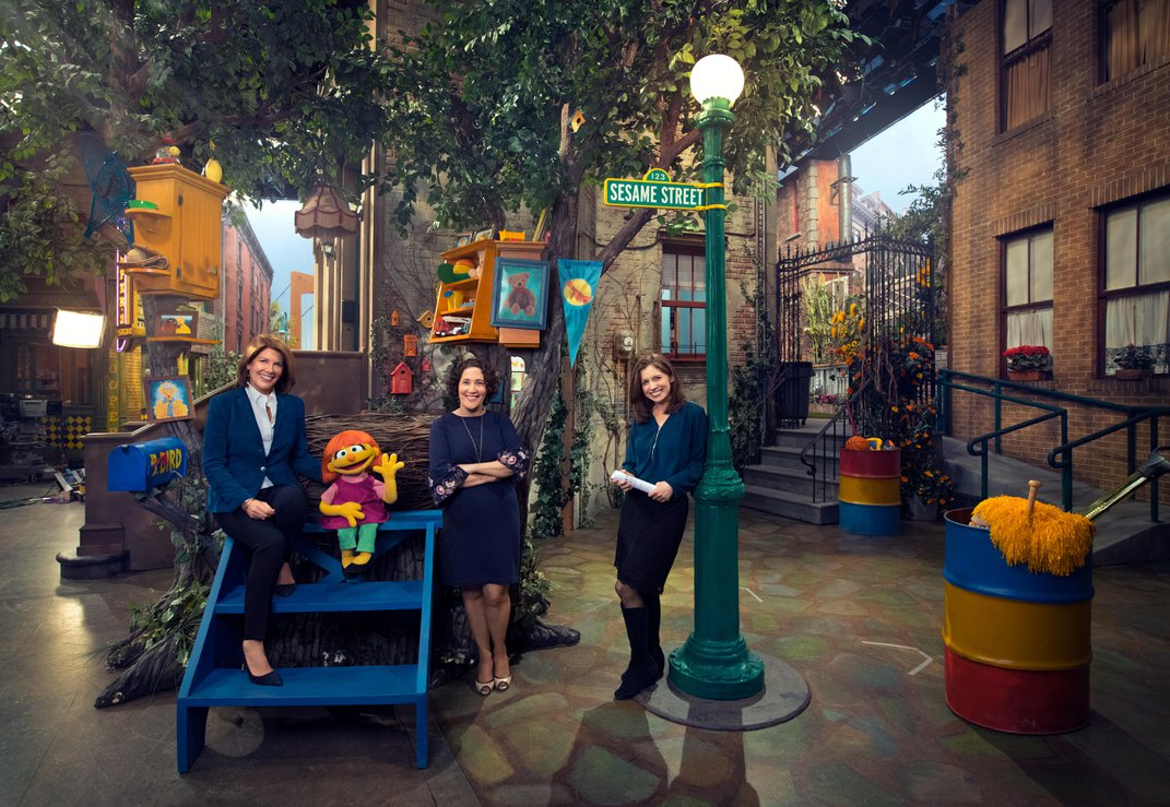 Why the Team Behind Sesame Street Created a Character With Autism