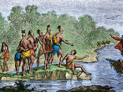 """Historian Alfred W. Crosby coined the term """"Columbian Exchange"""" in reference to the impact of living organisms traded between the New World and Old World."""