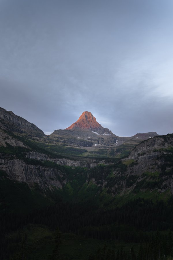First Light, Glacier National Park thumbnail