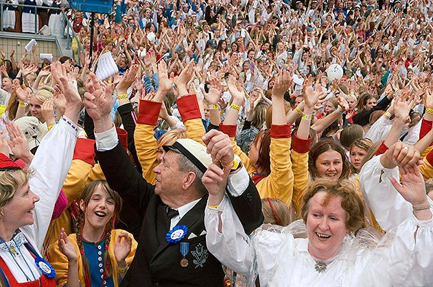 Tallinn Estonia traditional song festival