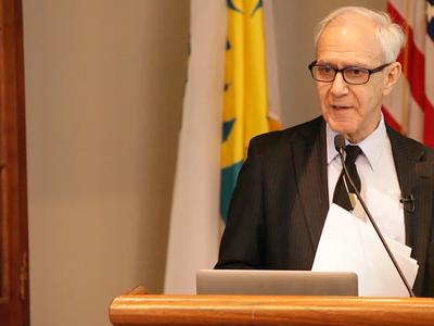 Art Molella delivers his speech on innovation.