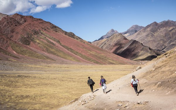 Lines and colors from Andes Mountains thumbnail