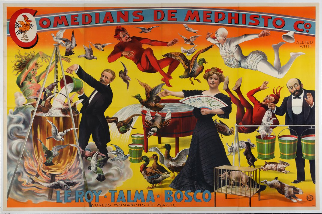 The Amazing Poster Art From the 'Golden Age' of Magic