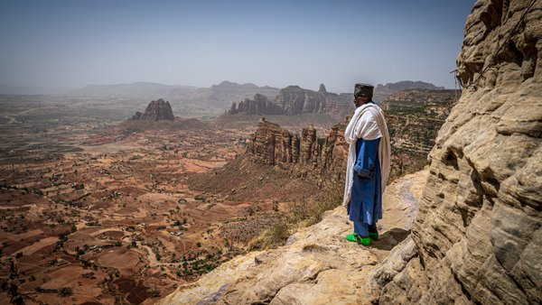 Lonely View From the Rock-Hewn Churches Above Tigray thumbnail