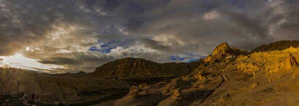 Sunrise of GuGe Kingdom in Tibet thumbnail