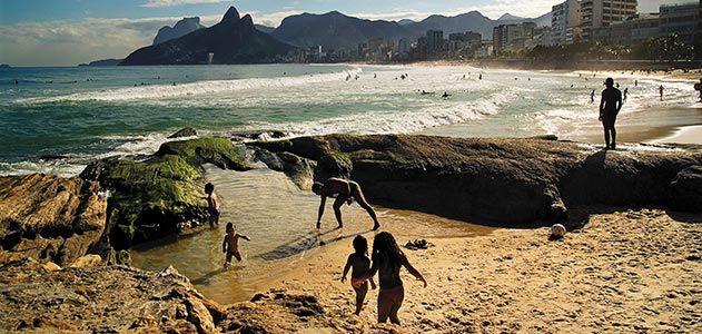 Ipanema Leblon beach