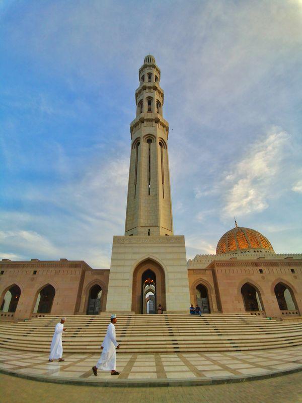 Grand Mosque, Muscat, Oman thumbnail