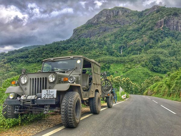 My Mitsubishi military jeep when I travel to the central hills of Sri Lanka thumbnail