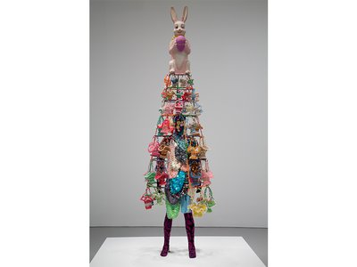 """""""I loved this sort of reference to a particular period in my upbringing as a kid,"""" says the artist Nick Cave,"""" and having these amazing, sort of outrageous Easter hunts."""""""