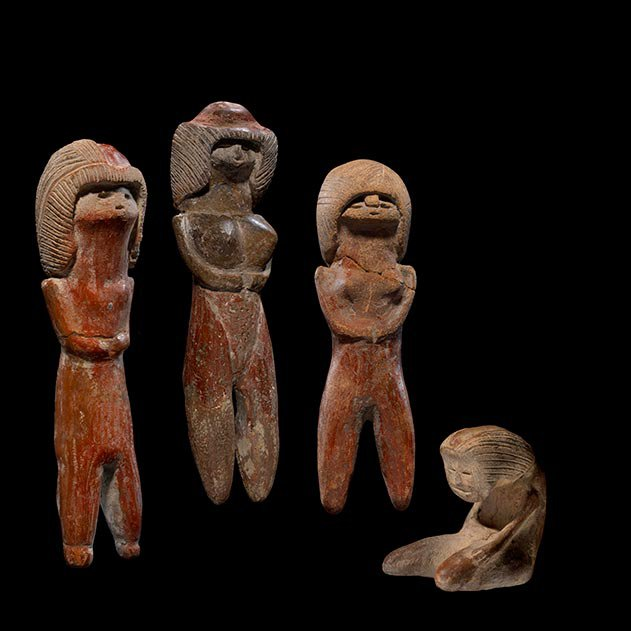 Valdivia Figurines The Andes