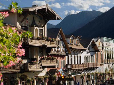 A former logging town, Leavenworth, Washington, received a facelift sometime in the early 1960s.