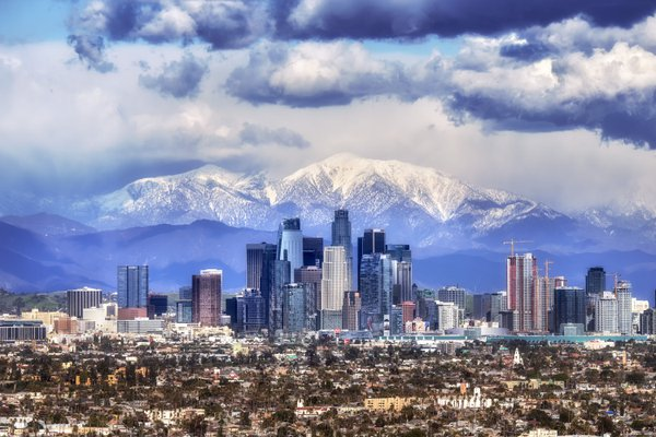 Snowcapped Peaks Los Angeles ?!? thumbnail