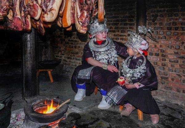 Miao ethnic kitchen hearth thumbnail