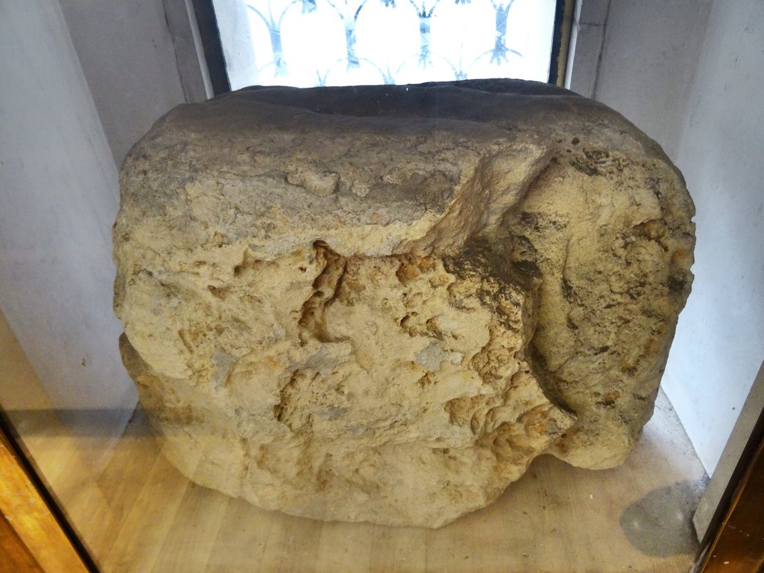 London's Lucky Stone—Referenced by Shakespeare, Blake—Set to Return to Rightful Place