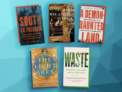 This month's book picks include A Demon-Haunted Land, South to Freedom and The Light Ages.