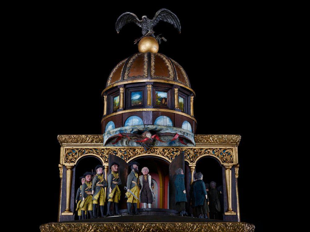 George Washington, Mechanical Clock