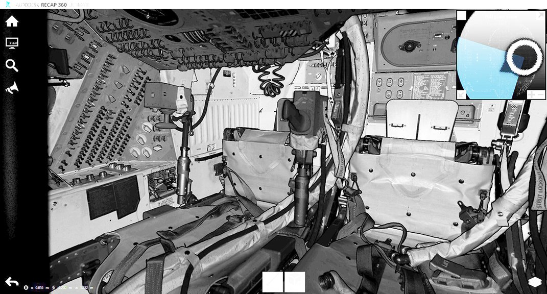 In Another Giant Leap, Apollo 11 Command Module Is 3-D Digitized for Humankind