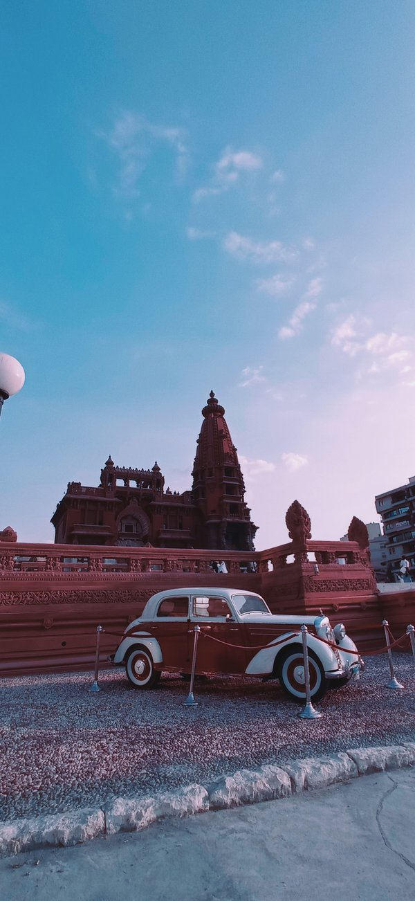 The Hindu Palace during my visit to it in the afternoon thumbnail