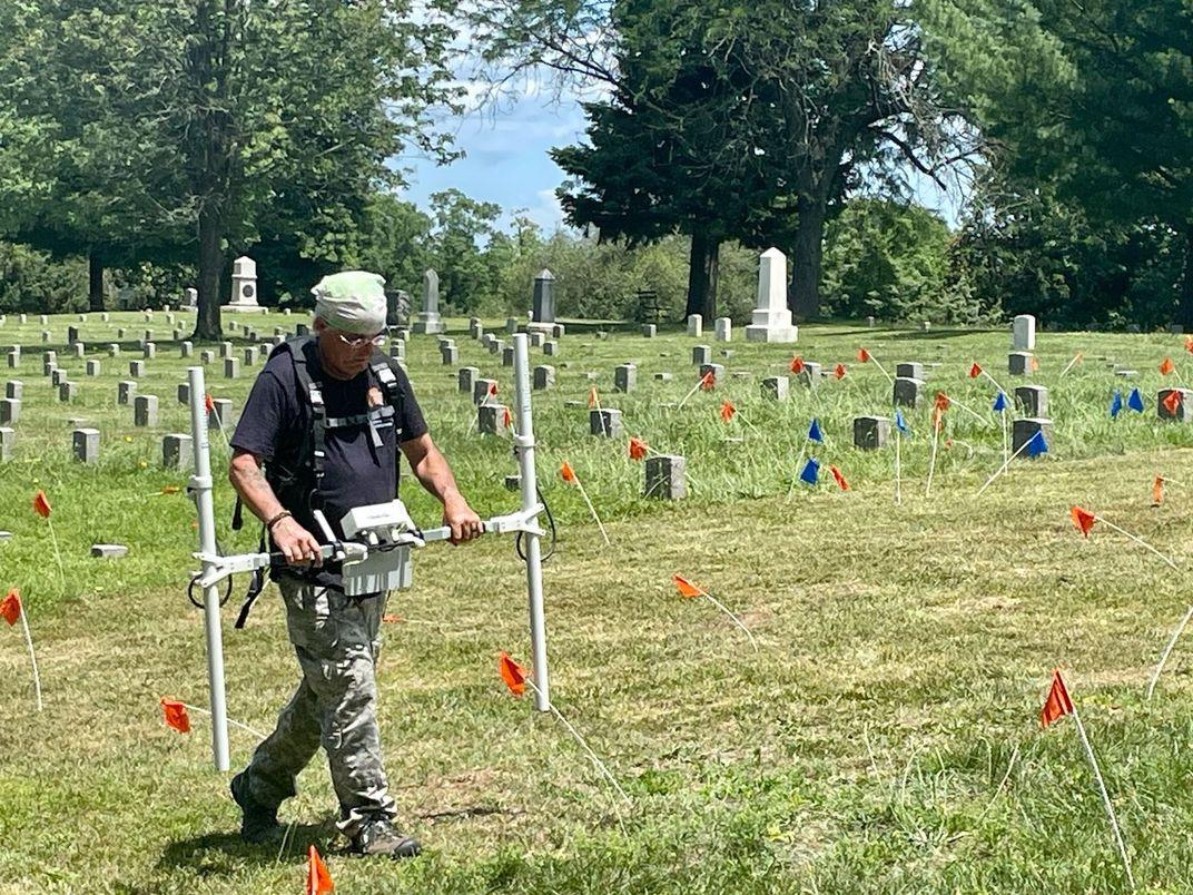 Forgotten Road Found Buried Beneath Civil War Cemetery in Virginia