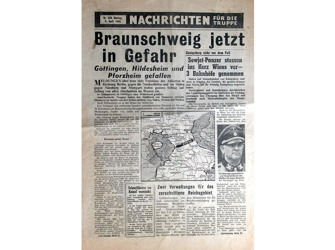 Fighting the Nazis With Fake News