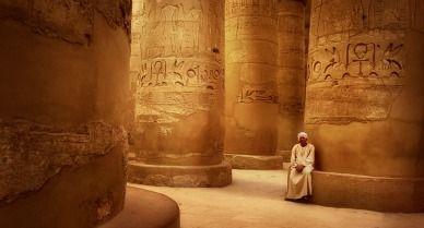 Guardian of Karnak Temple, Luxor, Egypt