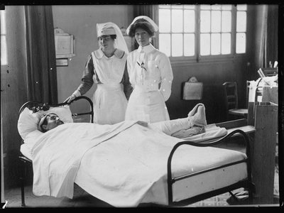Cellucotton, the material used to make Kotex sanitary pads, was used in World War 1 hospitals as a bandage. Nurses quickly found another use for it.