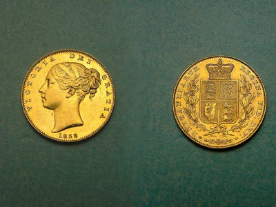 These coins have long been attributed as having come directly from the initial James Smithson's bequest but recent scholarship refutes the claim.