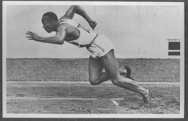 Jesse Owens, Track and Field