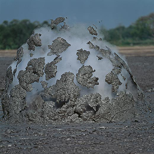 Bledug Kuwu Mud Geyser
