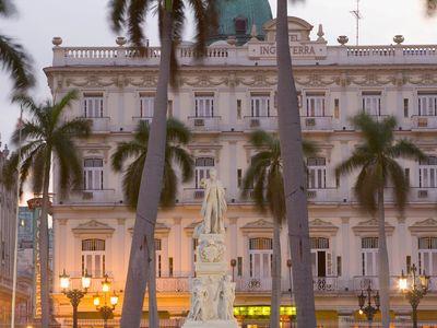 Parque Central in Old Havana, Cuba