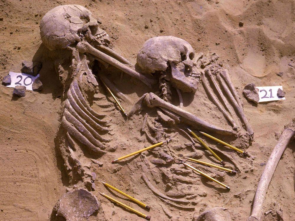 Jebel Sahaba burial