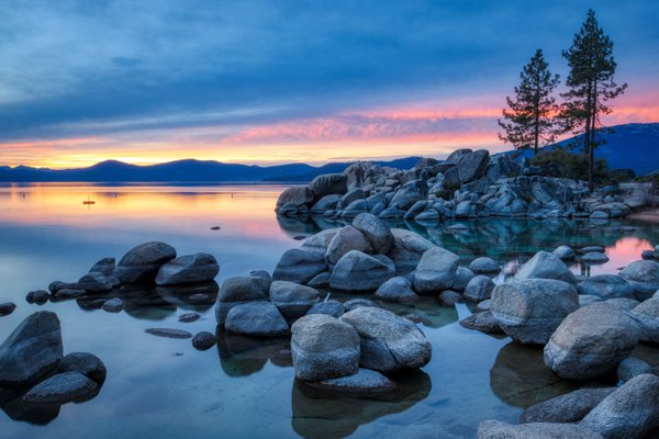 Colorful Sunset at Sand Harbor thumbnail