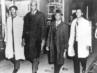 The lasting legacy of the Greensboro Four (above from left: David Richmond, Franklin McCain, Jibreel Khazan and Joseph McNeil) was how the courageous moment grew to a revolutionary movement.