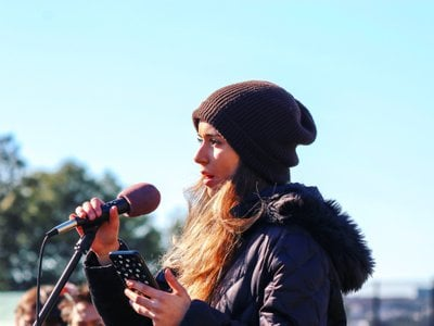 Sophia Kianni is the founder of Climate Cardinals, a member of the UN Youth Advisory Group on Climate Change, and hosts her own podcast.