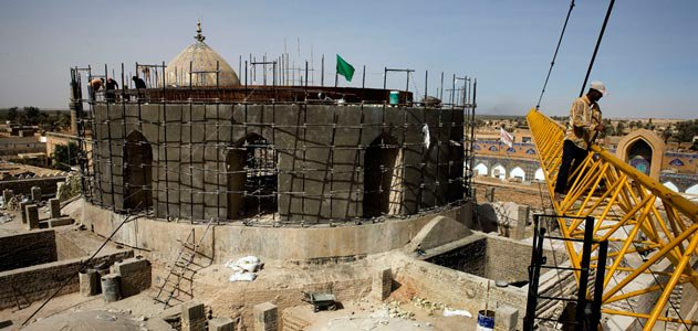 Askariya Shrine in Samarra, Iraq