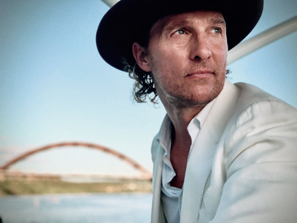 Matthew McConaughey joins Gayle King for a Smithsonian Asssociates Streaming event on February 10 to discuss his new memoir. (Vida Alves McConaughey)