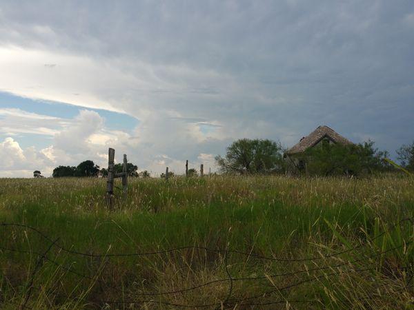Eroded Farmhouse,Northern Texas thumbnail