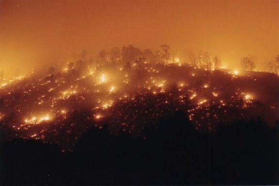 A 2002 wildfire in Colorado