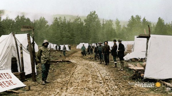 Preview thumbnail for Thomas Edison's Stunning Footage of the Klondike Gold Rush